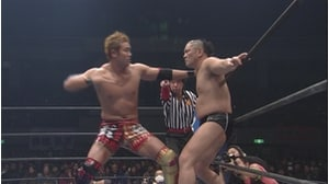 スペシャルシングルマッチ オカダ・カズチカ VS 鈴木みのる (2013年2月10日)画像
