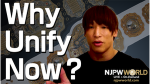 Why Unify Now? - Interview with Kota Ibushi - (English subs) 画像