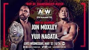 IWGP US HEAVYWEIGHT CHAMPIONSHIP MATCH  Jon Moxley vs. Yuji Nagata画像