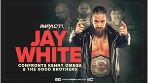 Jay White confronts Omega &the Good Brothers!画像